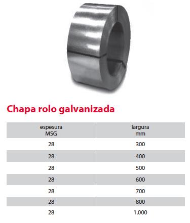 Produtos for Casetas de chapa galvanizada